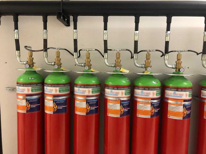 Novec1230 Gazlı Yangın Söndürme Sistemleri